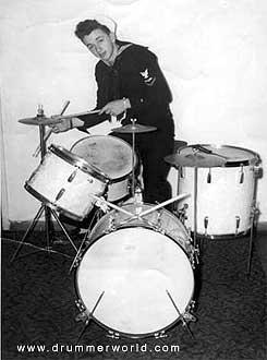 Drummer Buddy Harman