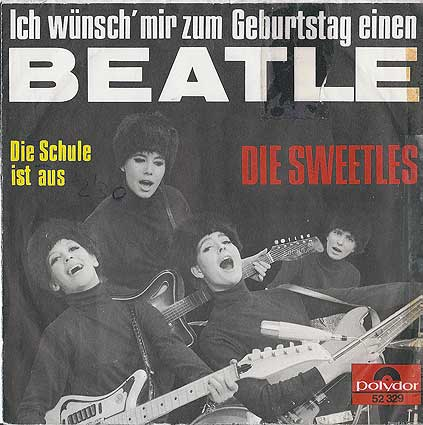 """Die Sweetles"" single cover"