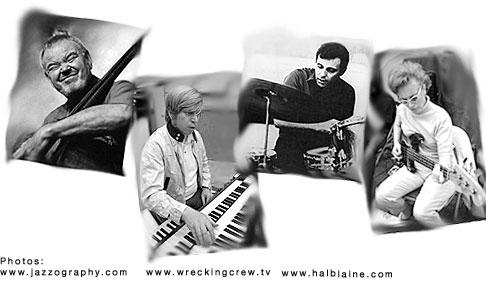 Los Angeles Studio Musicians Chuck Berghofer, Don Randi, Hal Blaine, Carol Kaye
