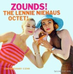 LP Cover Zounds! The Lennie Niehaus Octet, Photography by William Clax