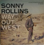 LP Cover, Sonny Rollins: Way Out West, Photgraphy by William Claxton