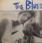 "LP Cover ""The Blues"", Photographer William Claxton, Pacific Jazz Records"