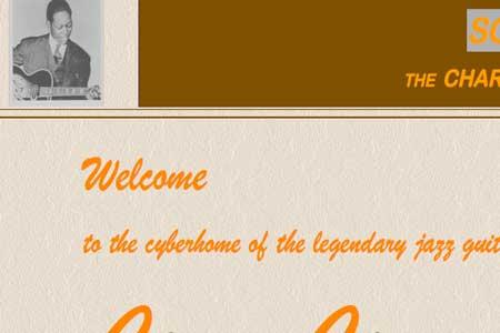Charlie Christian Web Site