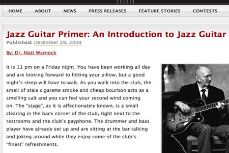 An Introduction To Jazz Guitar