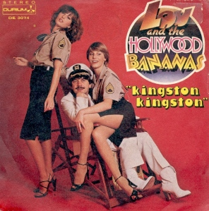 LP Cover. Lou Deprijck. Lou and the Hollywood Bananas - Kingston, Kingston.