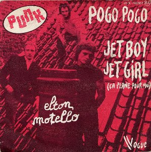Cover Punk Band Elton Motello. Jet Boy Jet Girl.